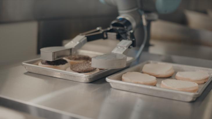 Robot Made Burgers