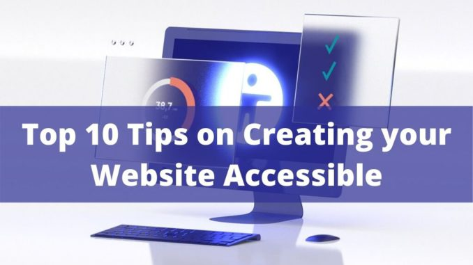 Creating an Accessible Website Design
